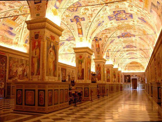Бібліотека Ватикану - безцінне зібрання книг і рукописів