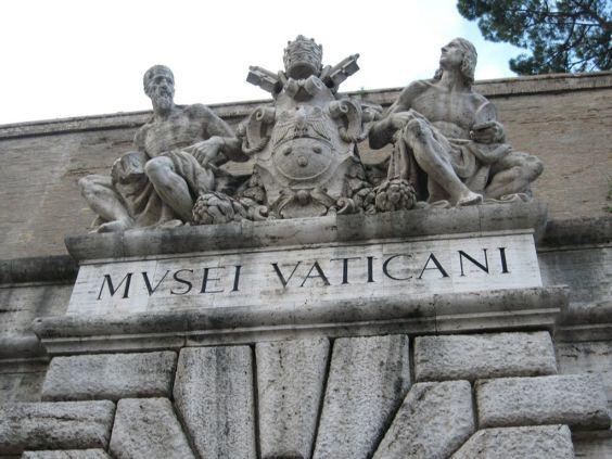 Музеї Ватикану. Вхід