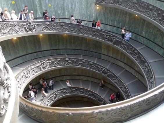 Музеї Ватикану. сходи