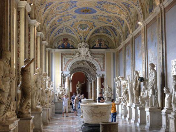 Музеї Ватикану. Один із залів