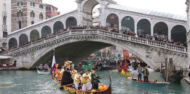 Венеція. карнавал