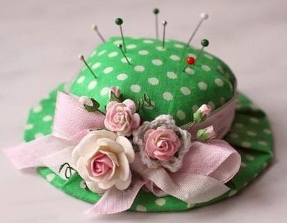 Игольница-капелюшок і просто декоративна капелюшок своїми руками