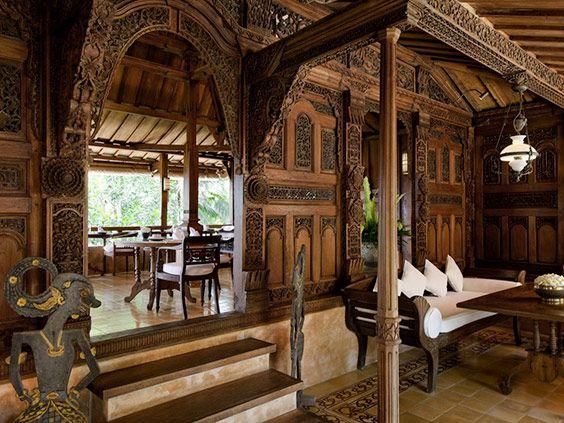 Індонезійська стиль - це, в першу чергу, меблі