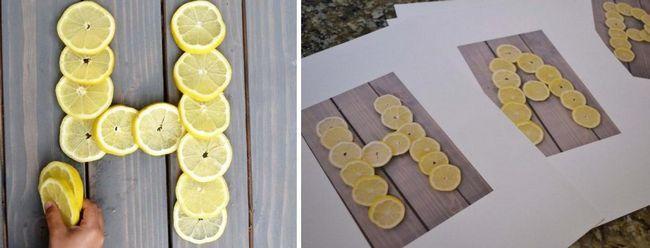 Робимо самі панно з фруктів на пам`ять про літо - простий майстер-клас