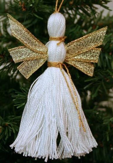 Снігур та ляльки з ниток своїми руками дуже просто