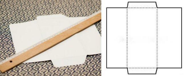 як зробити конверт для грошей своїми руками просто і швидко