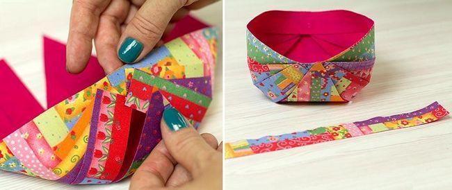 проста і красива упаковка для цукерок і маленьких подаруночків своїми руками - викрійки і майстер-класи - паперова кошик