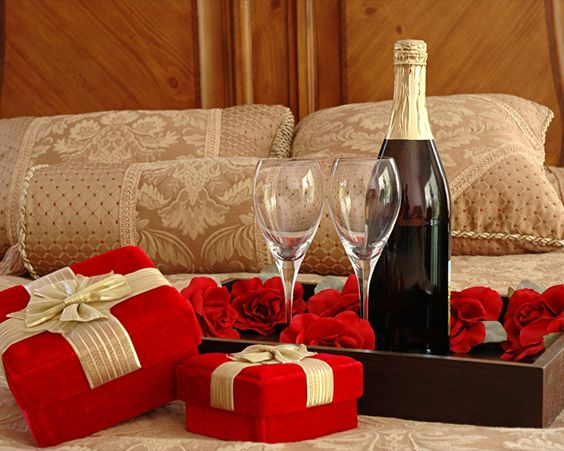 Романтична обстановка допоможе вам створити правильну атмосферу