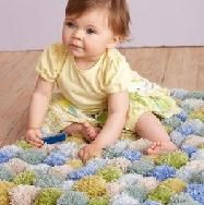 Як зробити помпон: помпони з ниток килимок з помпоном