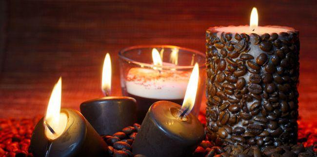 Красиві свічки своїми руками