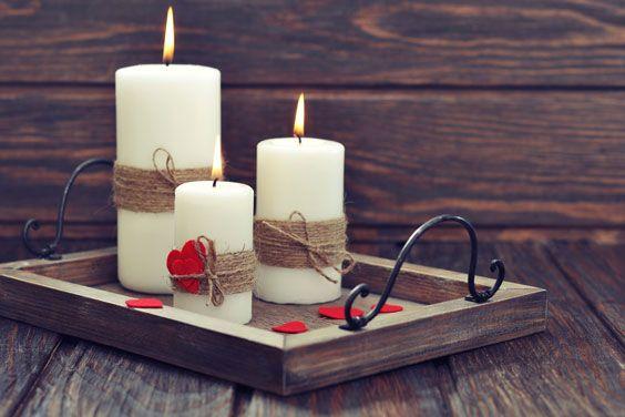 Як зробити свічки своїми руками - етапи виконання робіт