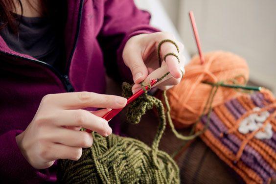 Як зв`язати шарф на спицях - поради для початківців