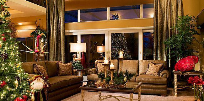 Як прикрасити квартиру на Новий рік - ідеї і рішення