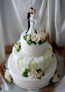 Який вибрати весільний торт