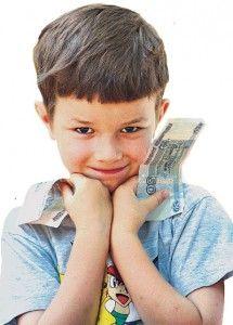 Кишенькові гроші для дітей