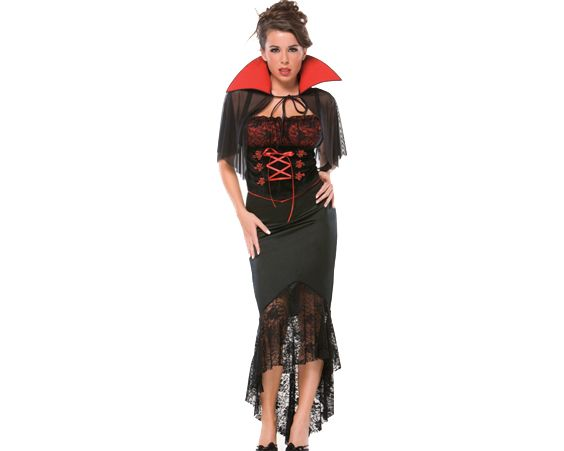Костюм вампіра - один з найпопулярніших варіантів