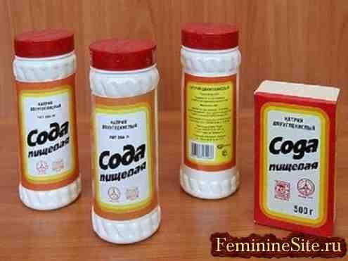 Лікування содою в домашніх умовах