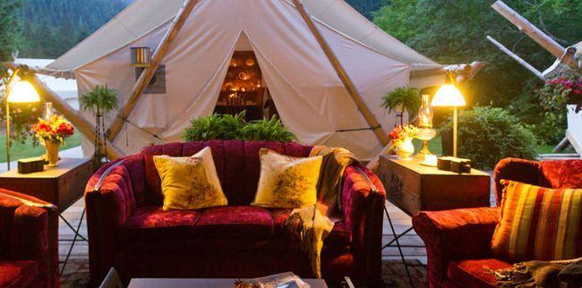 Кращий кемпінг «Clayoquot Wilderness Resort» знаходиться в Канаді