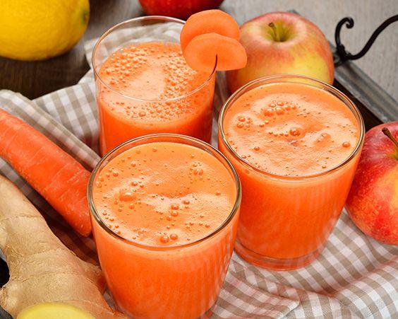 Напій з моркви і імбиру