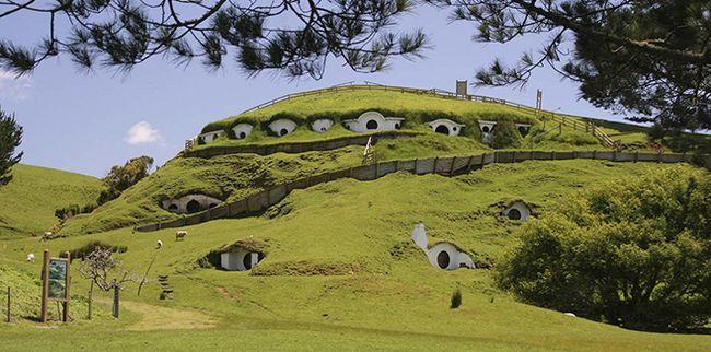 Нова Зеландія - тут побудували Хоббітона