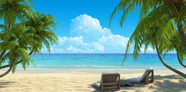 Чарівний тропічний пляж