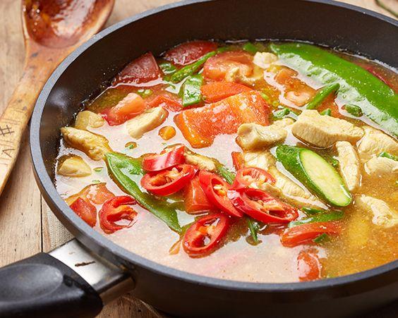 Гострий мексиканський курячий суп